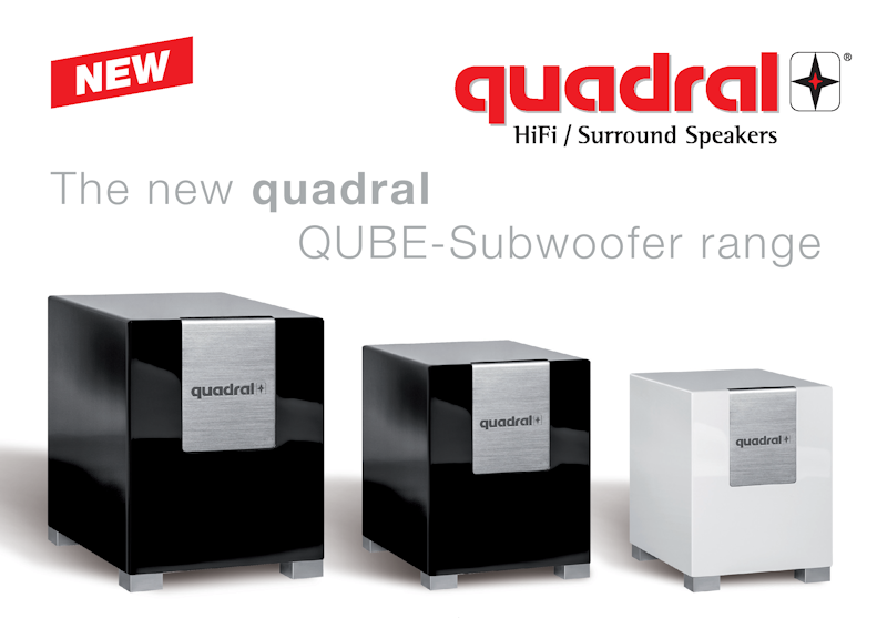 Quadral Qube subwooferit